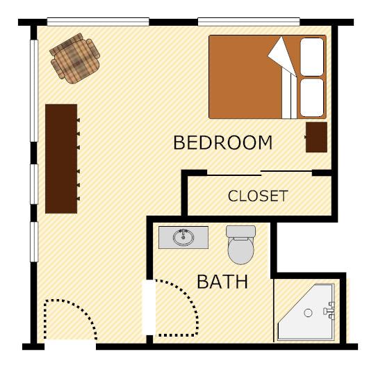 Studio Apartment Bay Area: Casa De Flores